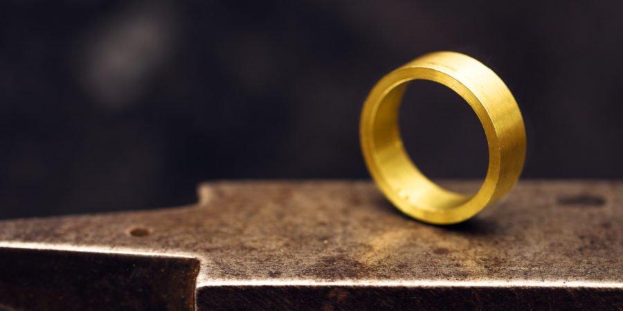 bague en gold-filled