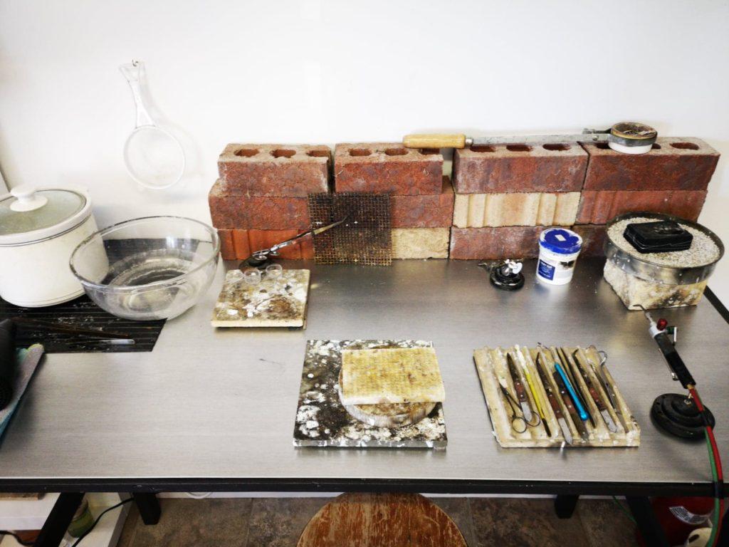 atelier de bijoutier