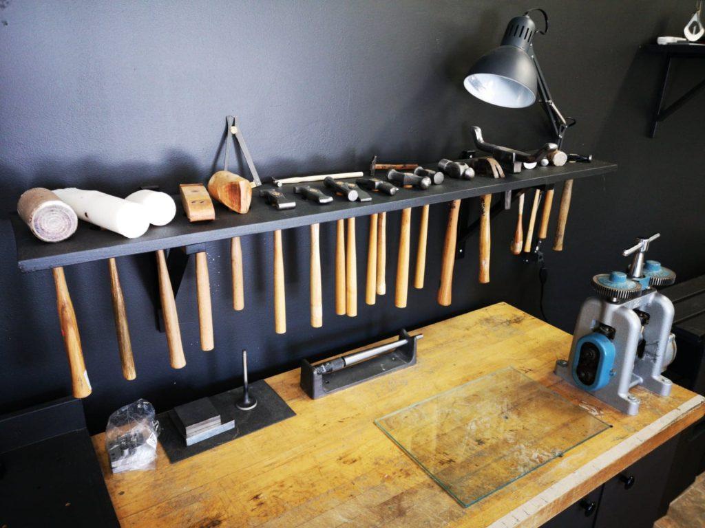 table de forge bijouterie