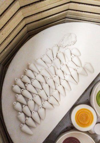 bijoux cuisson au four à céramique